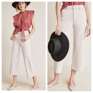 Anthropologie Paige Nellie high rise culotte jeans